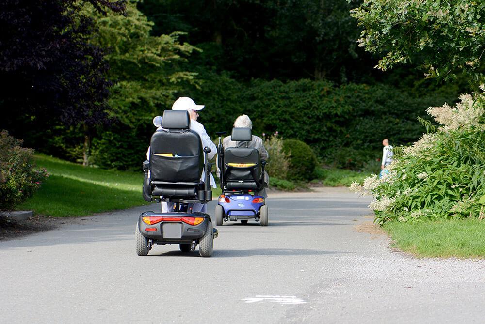 Kwetsbare ouderen en mensen met een lichamelijke beperking