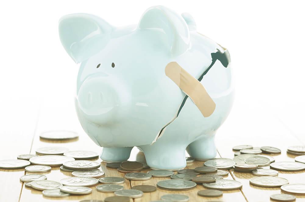 Mensen met inkomensondersteuning of financiële problemen